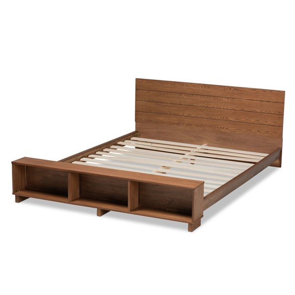Baxton Studio Regina Ash Walnut Wood Platform Storage Beds BAX-MG0017-STRG-BEDS-VAR