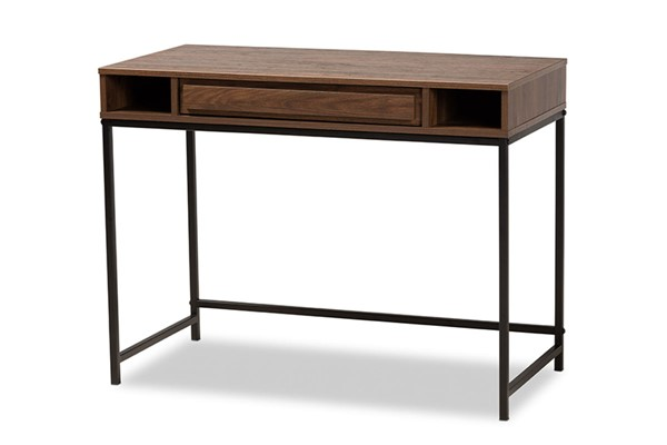 Baxton Studio Cargan Modern Drawer Desks BAX-ST8002-Desk-OD-VAR