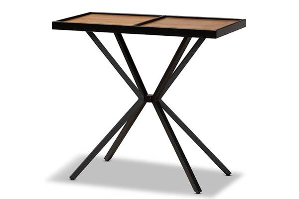 Baxton Studio Carlo Modern Console Tables BAX-LY80-Console-ST-VAR