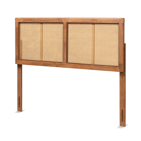 Baxton Studio Gilbert Ash Walnut Wood Full Headboard BAX-MG9725-1-ASHWALRTN-HB-F