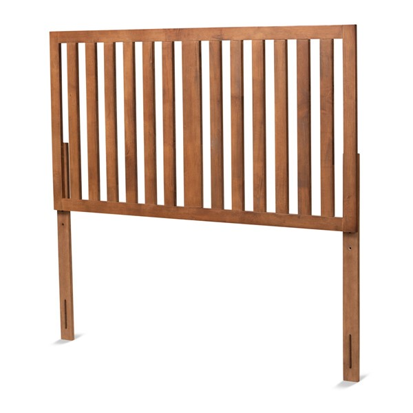 Baxton Studio Oren Ash Walnut Wood Full Headboard BAX-MG9744-ASH-WAL-HB-F