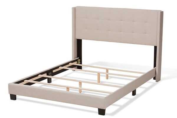 Baxton Studio Lisette Fabric Upholstered Beds BAX-CF8031B-BED-VAR