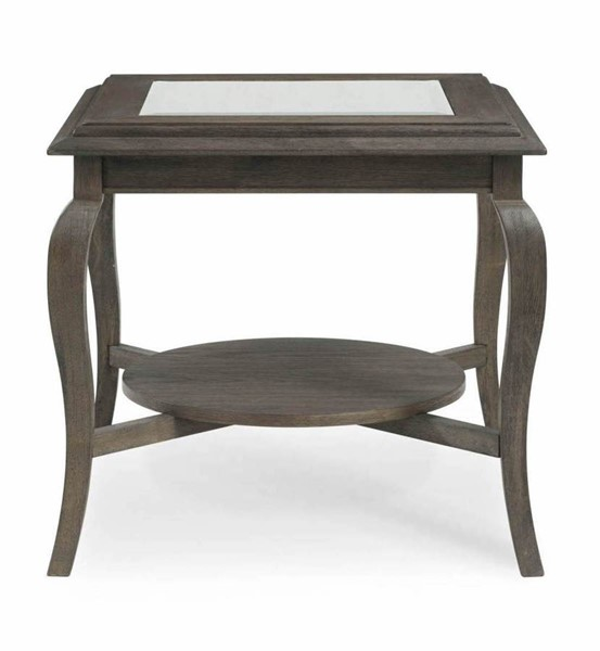 Bassett Mirror Raiden Coffee Bean End Table BMC-3266-LR-200EC