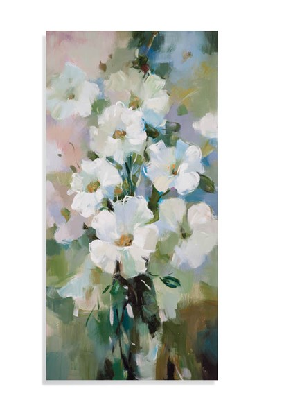 Bassett Mirror White Spring Bloom Wall Art BMC-7300-354EC
