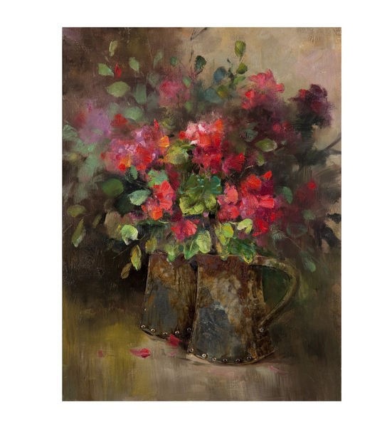 Floral & Botanical Rectangle Two Of A Kind Wall Art BMC-7500-624EC