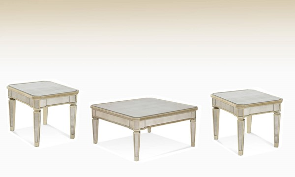 Borghese Hollywood Glam Coffee Table Set BMC-8311-CT
