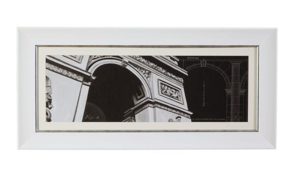 Rectangle Iconic Architecture II Wall Art BMC-9900-127BEC