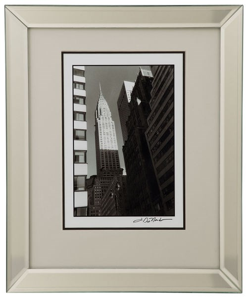 Modern Rectangle Chrysler Building Wall Art BMC-9900-154CEC