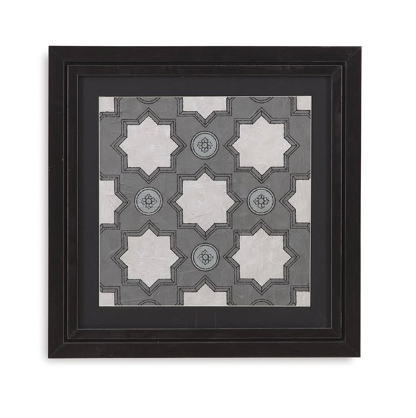 Brushed Silver Caisson IV Architectural Wall Art BMC-9900-230EEC