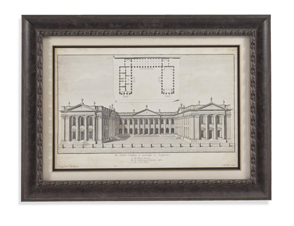 Charcoal Cambride In Perspective Wall Art BMC-9900-317EC
