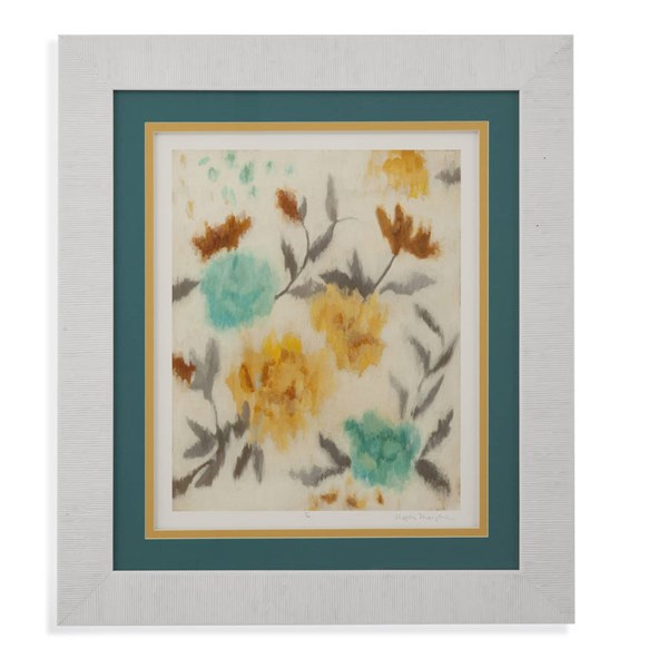 White Cambridge Blooms I Floral & Botanical Wall Art BMC-9900-370AEC