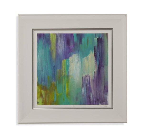 Resin Brooks Path III Abstract Square Wall Art BMC-9900-440CEC