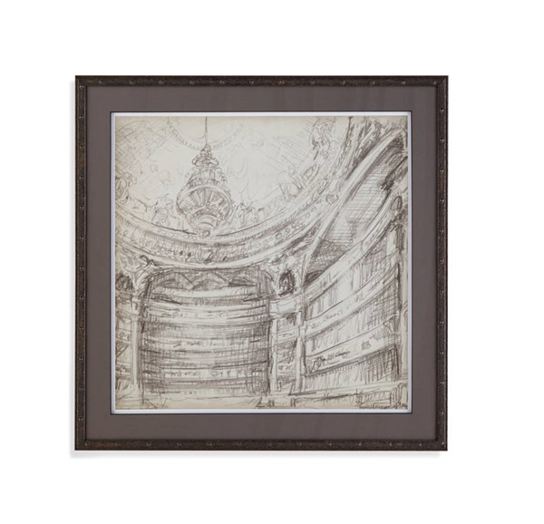 Bronze Wood Interior Architectual Study II BMC-9900-493BEC