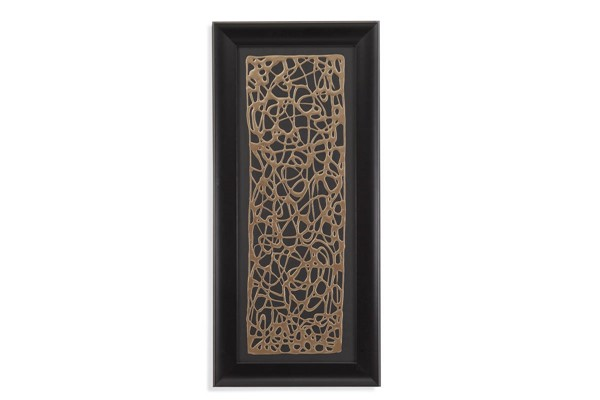 Bassett Mirror Gold Decograph Panel Wall Art BMC-9900-589EC