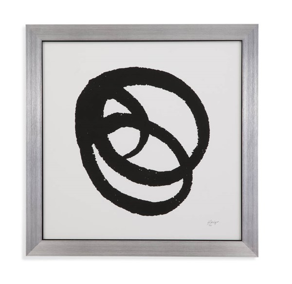 Bassett Mirror Black Kinetic IV Wall Art BMC-9900-629EEC