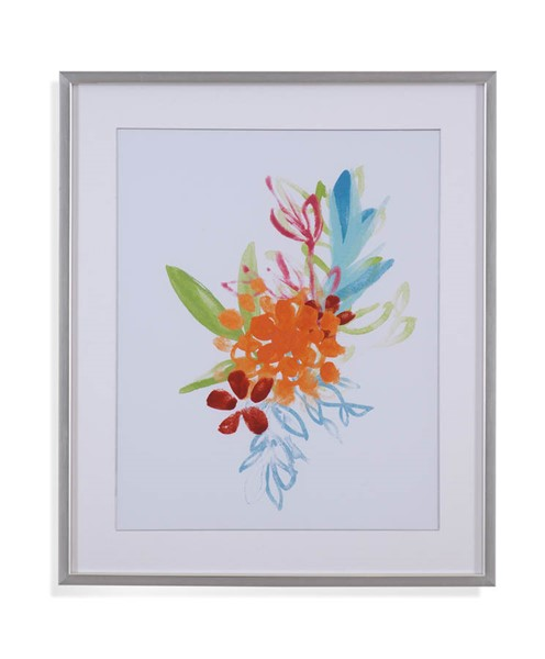 Bassett Mirror White Flora IV Wall Art BMC-9901-055EEC