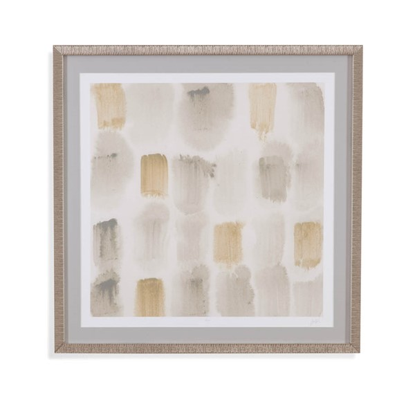 Bassett Mirror Grey Rhythmic Echo II Wall Art BMC-9901-074EC