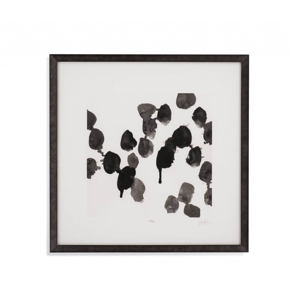 Bassett Mirror Black Monochrome Gestures VII Wall Art BMC-9901-178EEC