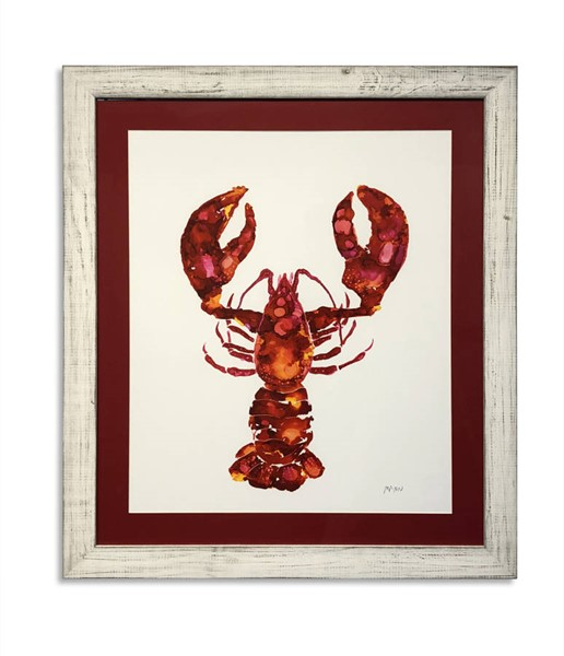 Bassett Mirror Red Lobster Wall Art BMC-9901-430