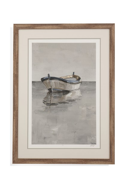 Bassett Mirror Boat On The Horizon II Wall Art BMC-9901-576B