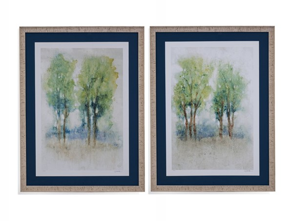 Bassett Mirror Spontaneous Landscape 2pc Framed Art BMC-9901-692-000