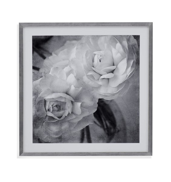 Bassett Mirror Dark Ranunculus I Framed Art BMC-9901-712AEC