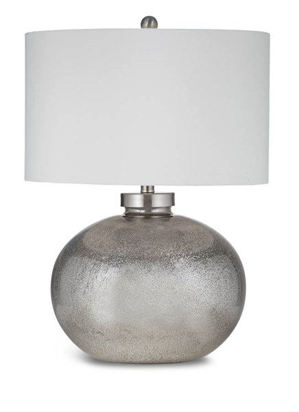 Gardena Silver Black Contemporary Table Lamp BMC-L2737TEC
