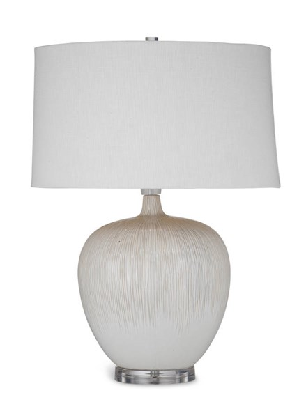 Arcadia Modern Two Tone Beige Table Lamp BMC-L2757TEC