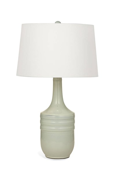 Fairview Modern Grey Ceramic Table Lamp W/CFLS Bulb BMC-L2929TEC