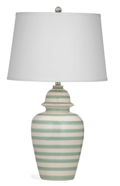 Sawyer Modern Ceramic Table Lamp W/CFLS Bulb BMC-L2964TEC