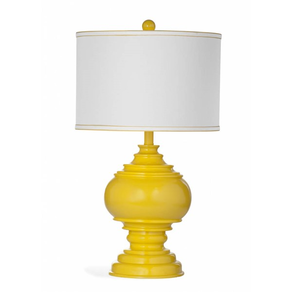 Bassett Mirror Kuna Yellow Table Lamp BMC-L3141T