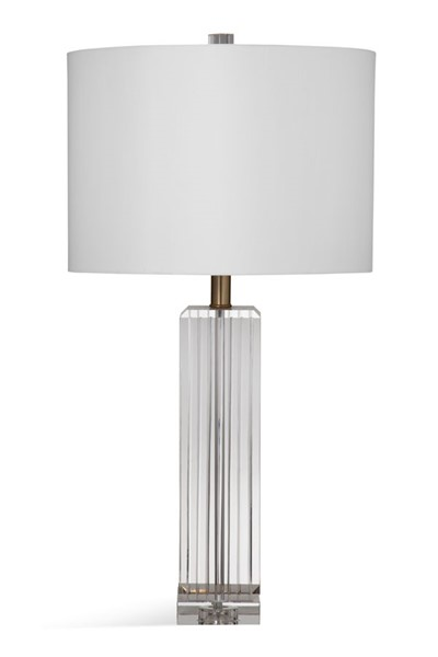 Bassett Mirror Reseda Clear Table Lamp BMC-L3728T
