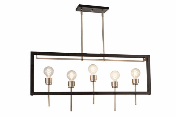 Bassett Mirror Linfield Black Chandelier BMC-L3770C