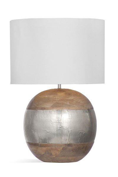 Bassett Mirror Brock Natural Table Lamp BMC-L3859TEC
