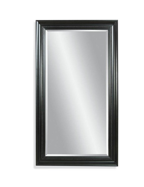 Bassett Mirror Kingston Old World Ebony Wood Leaner Mirror BMC-M1768BEC