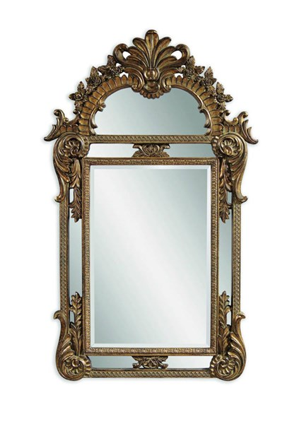 Valencia Antique Gold Old World PU Wall Mirror BMC-M3129BEC