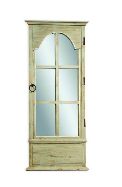 French Tarragon Modern Wood Door Leaner Mirror BMC-M3272EC