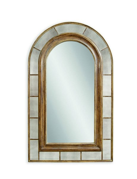 Clark Rustic Bronze Old World PU Arched Leaner Mirror BMC-M3378EC