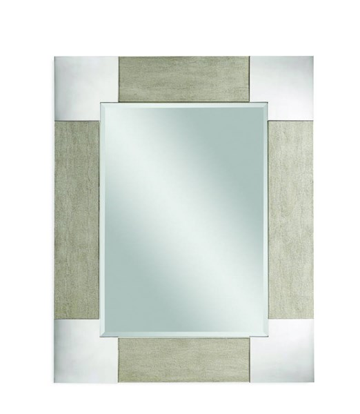 Kipling Modern Wood Rectangle Wall Mirror BMC-M3396BEC