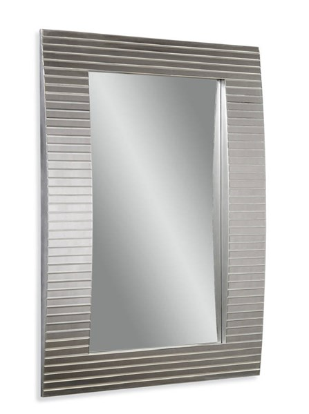 Tambour Modern Rectangle Wall Mirror W/Frame BMC-M3422BEC