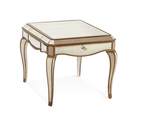 Collette Hollywood Glam Rectangle End Table BMC-T1267-200EC
