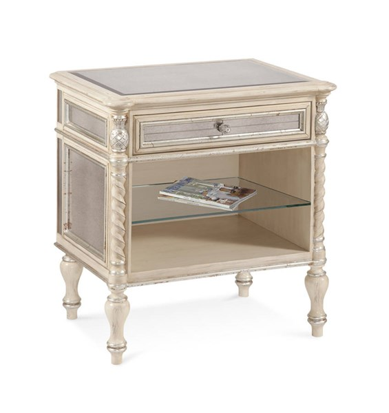 Reflections Antique Cream Wood Side Chest BMC-T2055-900EC