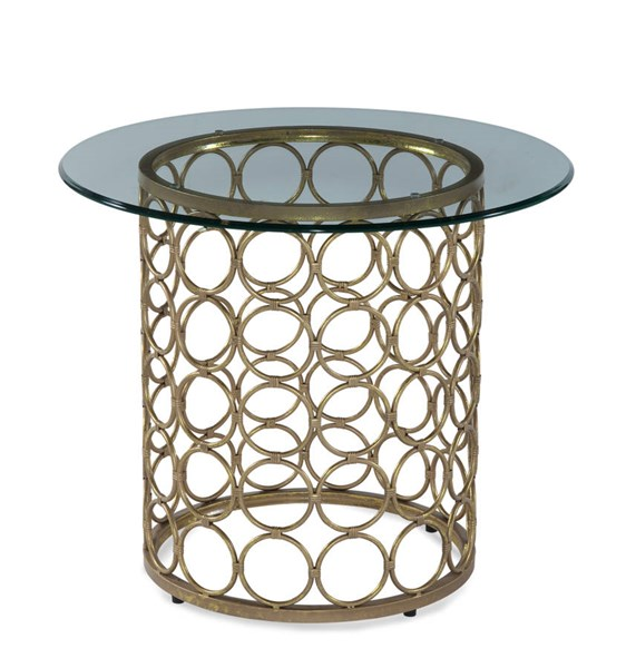 Carnaby Modern Metal Round End Table Base BMC-T2789-220BEC
