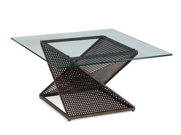 Bolton Modern Steel Square Cocktail Table Base BMC-T2808-130BEC
