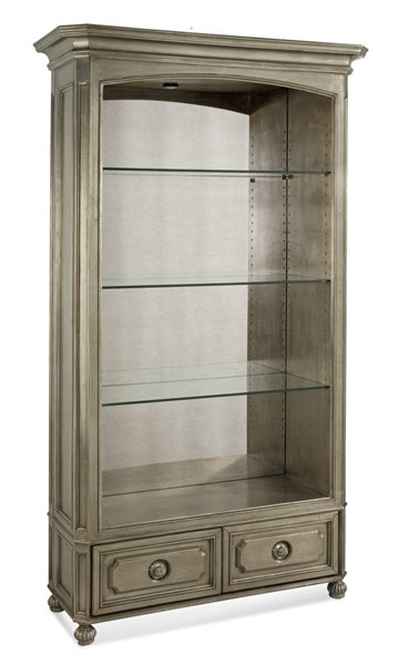 Palazzina Hollywood Glam Champagne Silver Bookcase BMC-T2815-500EC