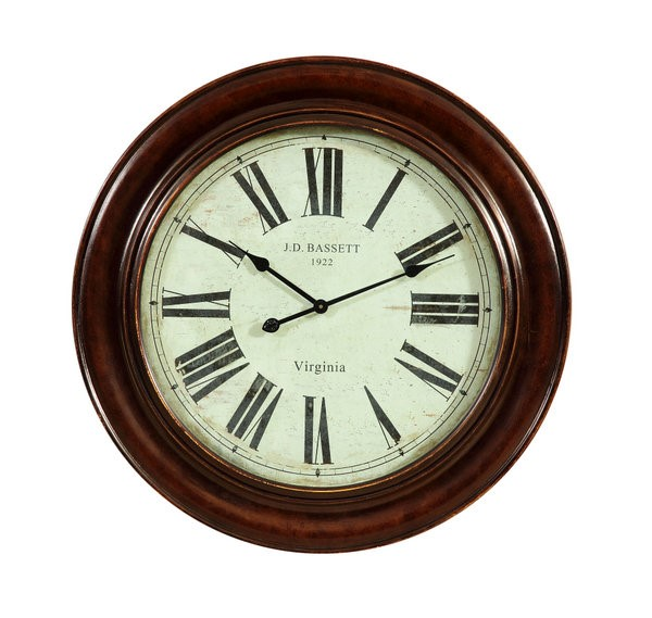 Brinkley Antique Bronze Round Wall Clock BMC-MC3300EC