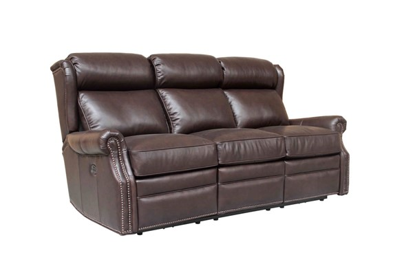 Barcalounger Southington Power Head Rests Reclining Sofa BRC-39PH3183570088