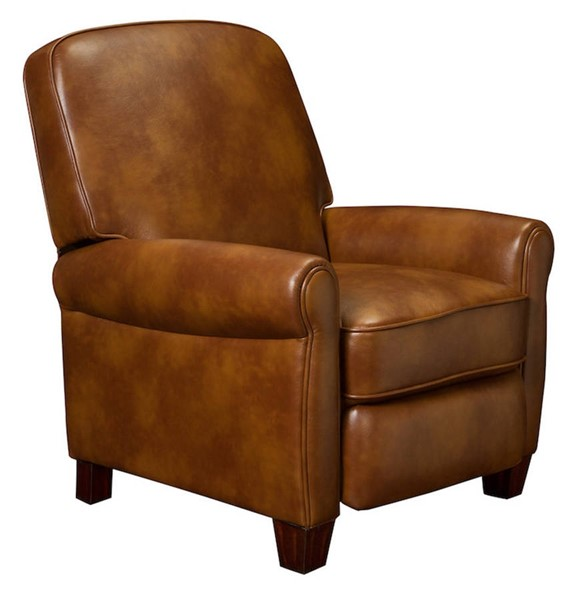 Drake Traditional Blanche Chestnut Leather Gel Recliner BRC-7-3041-2110-82