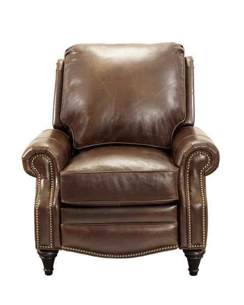 Avery Traditional Bradford Whiskey Leather Seat Cushions Recliner BRC-7-2160-5146-86