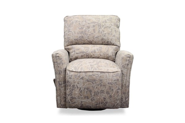 Cordoba Traditional Comet Cloud Fabric Swival Glider Recliner BRC-8-4555-1068-10